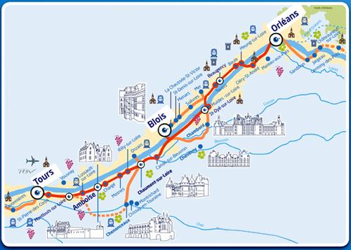 La Loire à vélo sera à la fête entre Orléans et Tours
