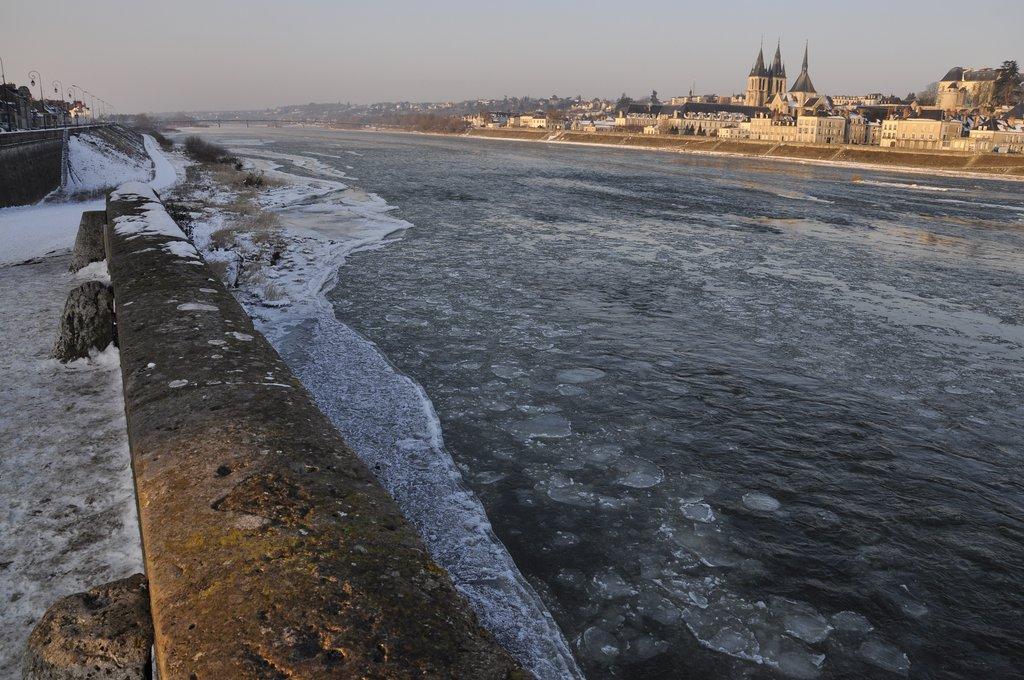 Loire gelée février 2012