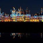 Château de Chambord illuminé de nuit