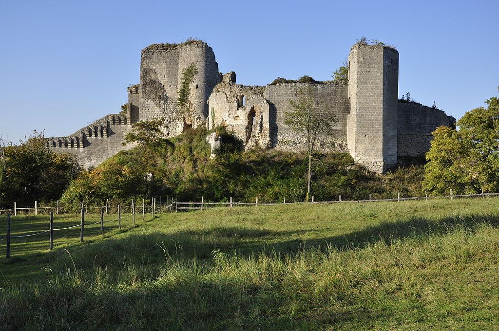 Ruines du château de Montoire-sur-le-Loir