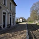Gare du train touristique de Thoré-la-Rochette