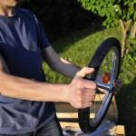 Montage de la remorque : la roue