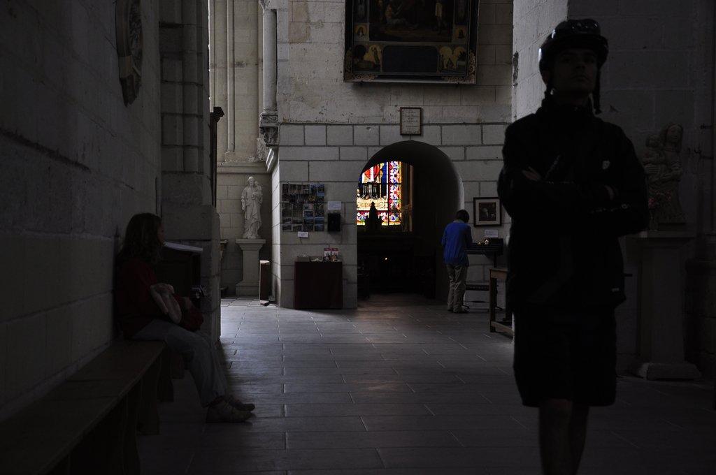 Intérieur de l'église de Candes-st-Martin