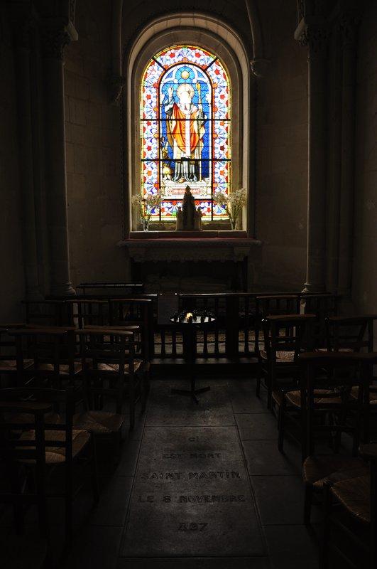 Ici est mort Saint-Martin de Tours