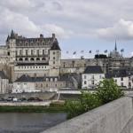 Le château d'Amboise vu du pont