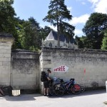 Pause à l'ombre du château d'Ussé