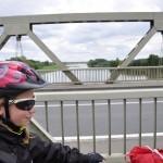Pont pour rejoindre l'île de Chalonnes