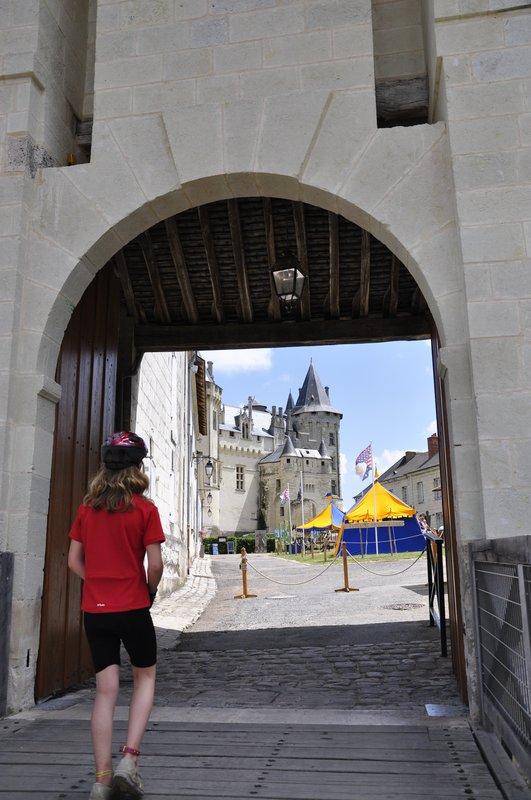 Pont-levis du Château de Saumur