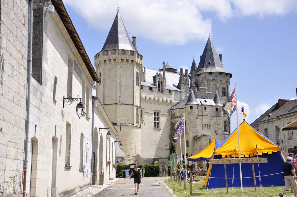 Cour du Château de Saumur