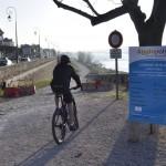 Nouvelle piste cyclable...en travaux