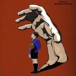 affiche de Juste une cachette de Madeline Fouquet