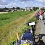 Pause avant Les Ponts-de-Cé