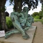 Statue de Léonard de Vinci à Amboise