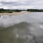 Loire vue du pont pour rejoindre l'île de Chalonnes