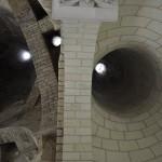 Cheminées de la cuisine de l'abbaye de Fontevraud