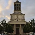 Façade de l'église Saint-Mathurin de Saint-Mathurin-sur-Loire
